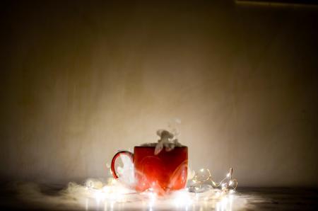 Red Ceramic Coffee Mug
