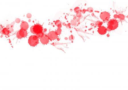 Red Paint Splats
