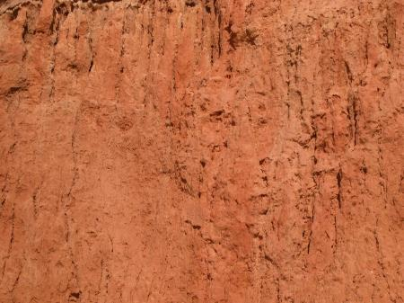 Red rocky texture