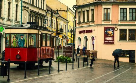 Replica tram Sanok SW1