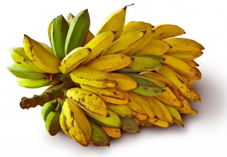Ripe Banana Bunch