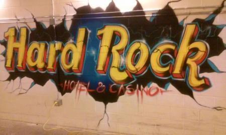 Rock graffiti