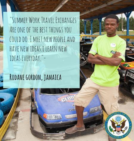 Rodane Gordan, Jamaica