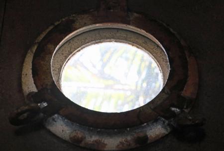 Round boat window
