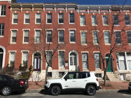 Rowhouses, 1522-1526 Hollins Street, Baltimore, MD 21223