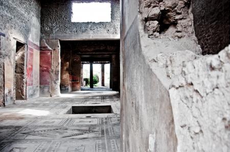 ruin ancient Roman city of Pompeii