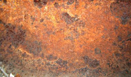 Rusted Iron Cover