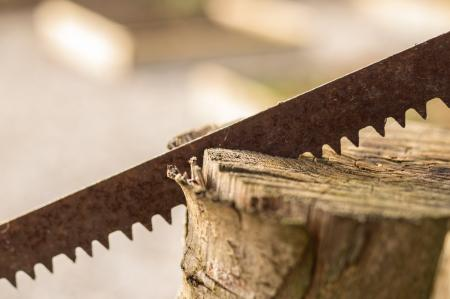 Rusted Saw
