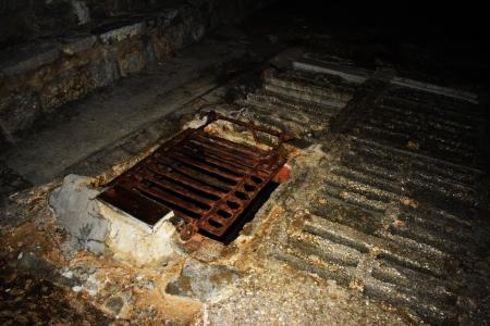 Rusted Sewage Cover