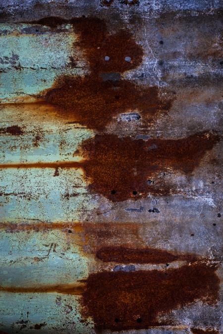 Rusted Sheet of Metal