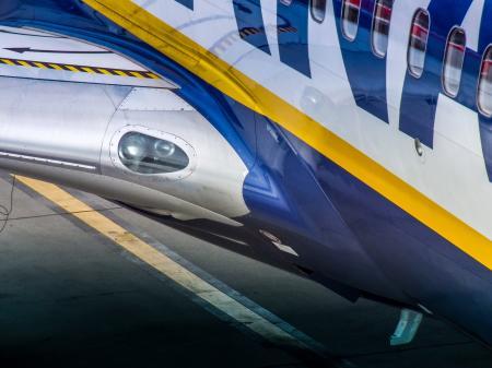 Ryanair Boeing 737, Krakow Balice Airport