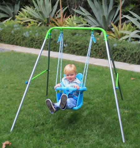 Safety child swing