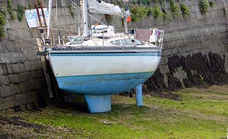 Sailboat on Land
