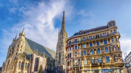 Saint stephen cathedral on stephansplatz in vienna