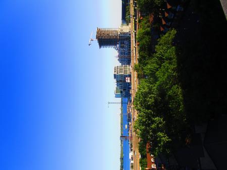 Scanning Toronto's skyline, 2017 06 14 B -l
