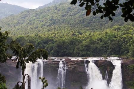 Scenic View of Waterfall