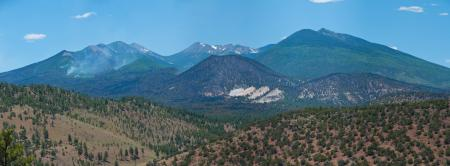 Schultz Fire: Robinson Crater Panorama