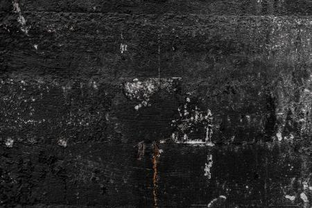 Scratched Grunge Black Wall