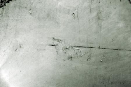 Scratched plastic surface