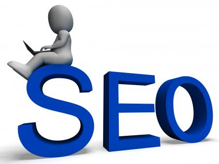 Seo Showing Search Engine Optimization