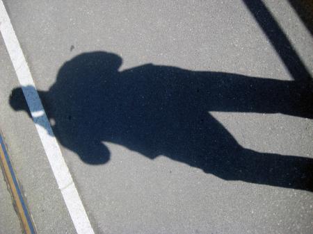 Shadow on a Rail