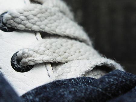Shoe macro shot