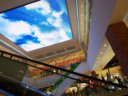 Shoping Center Ceiling TV