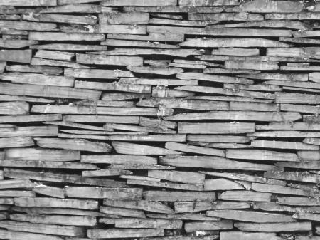 Slate Dry Stone Wall Background