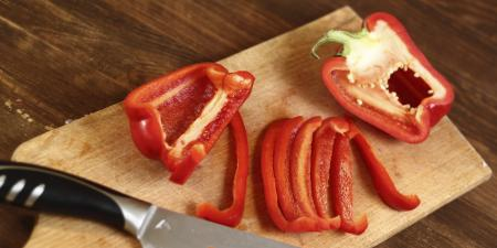 Sliced Bell Peppers
