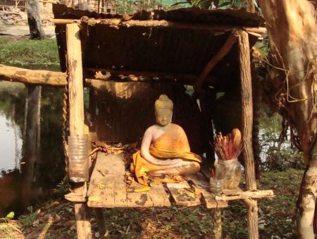 Small Buddhist Shrine