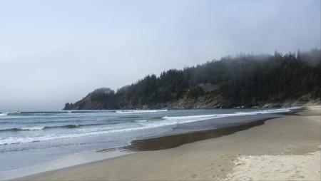 Smugglers Cove and Short Sand Beach , Oregon