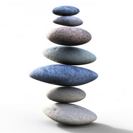 Spa Stones Represents Perfect Balance And Balanced