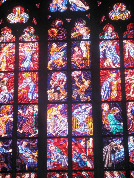 Stained Church Glass