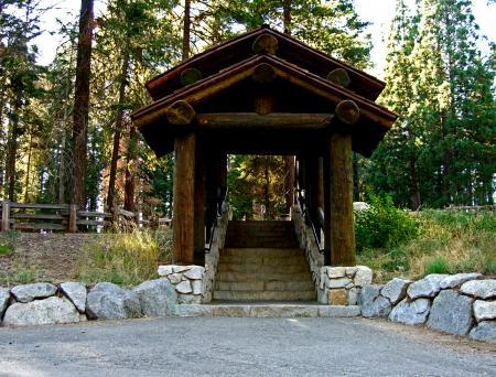 Stairway in Sequoia National Park