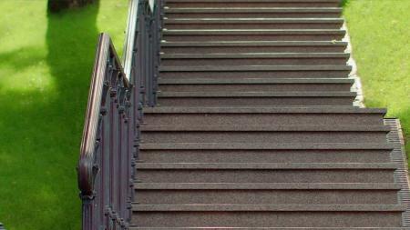 Steps closeup