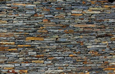 Stone Wall - Stone Texture - Schist - Background
