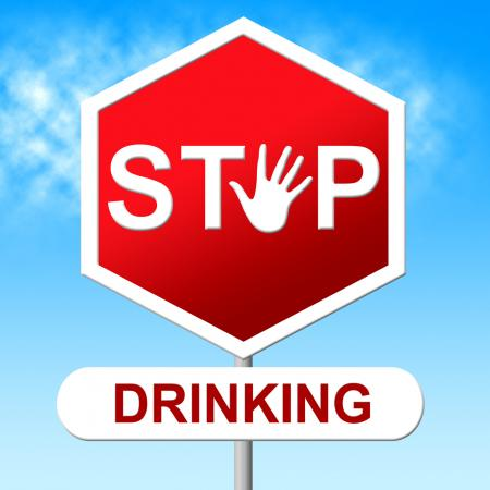 Stop Drinking Means The Hard Stuff And Grog