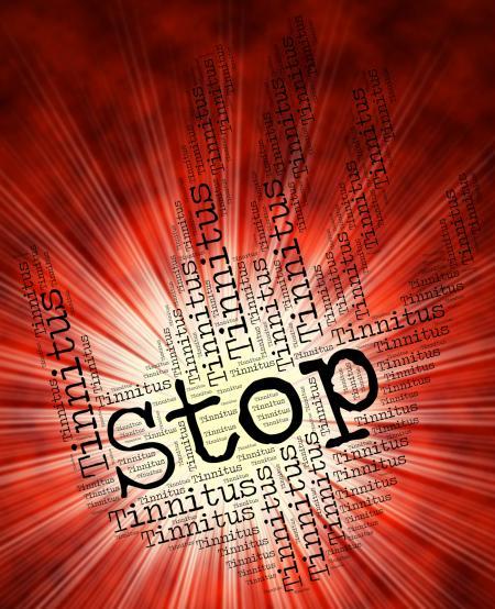 Stop Tinnitus Indicates Warning Sign And Clicking