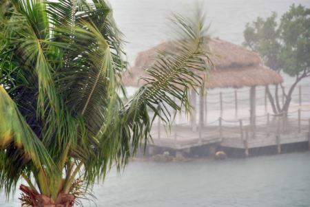 Storm in the Keys