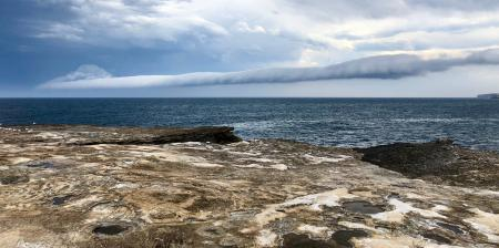 Storm rolling over Coogee