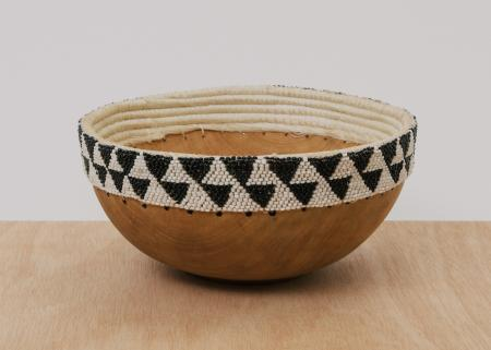 Strong wooden bowl