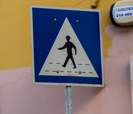 Stylized crosswalk