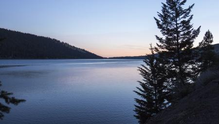 Sunrise at Wallowa Lake, Oregon