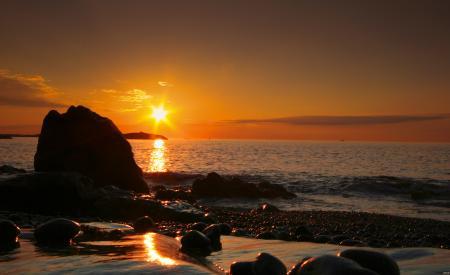 Sunrise on Marblehead Neck, MA