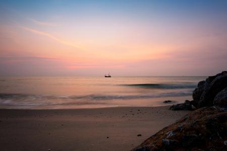 Sunrise on the Gulf of Thailand