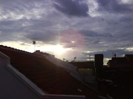 Sunrise on the roof
