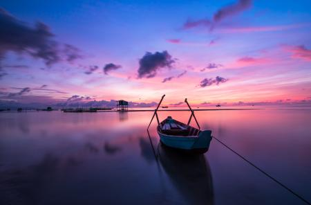 Sunset at Phu Quoc Island Vietnam hd wallpaper island