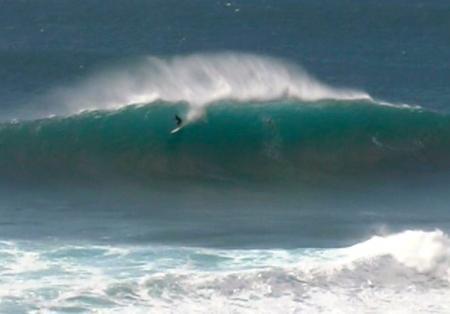 Sunset Beach Surfer
