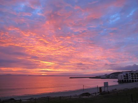 Sunset in Langebaan