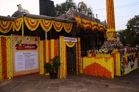 Temple Flower Decoration